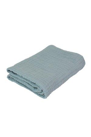 Sebra Baby blanket, mist blue