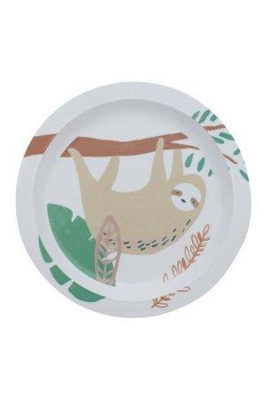 Sebra Melamine plate, wildlife