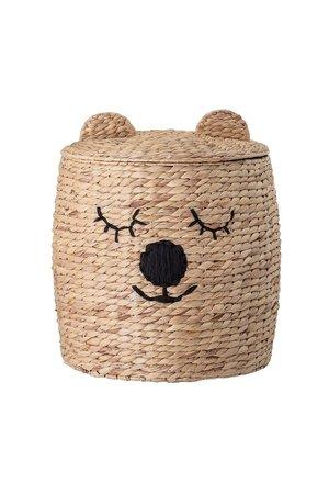 Bloomingville Mini Basket bear with lid