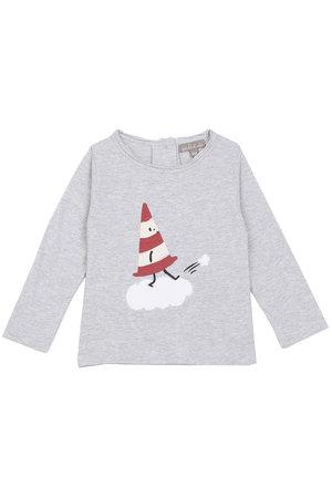 Emile et ida T-shirt cone - gris chiné
