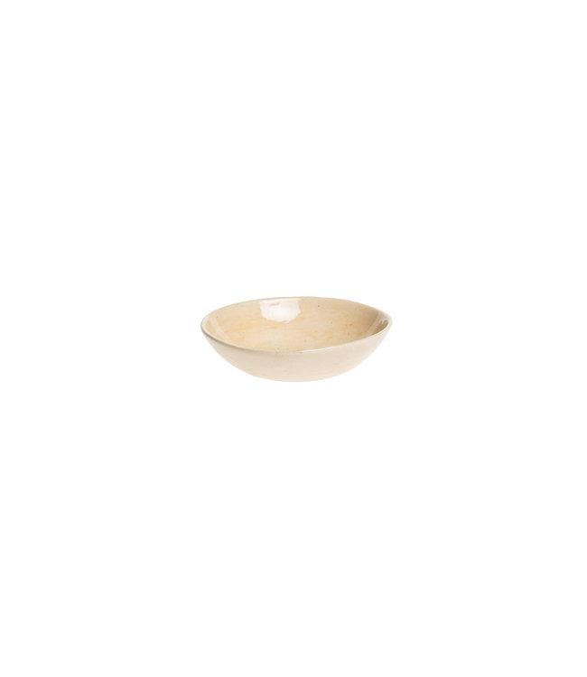 Wonki Ware Salt dish round large - plain