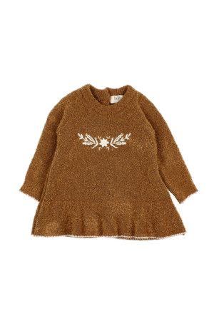 Buho Rose knit dress - nougat