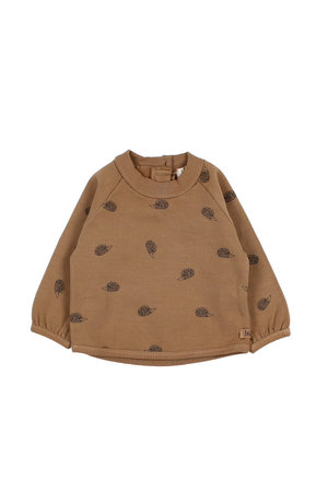 Buho Monkey sweater - nougat