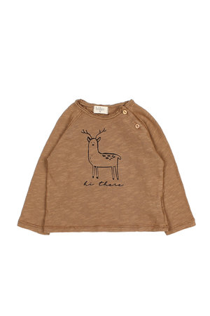 Buho Lenny hi there t-shirt - nougat