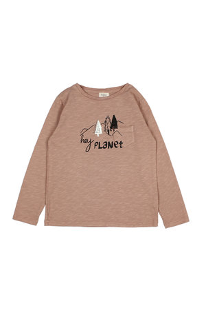 Buho Philippe hey planet t-shirt - safari
