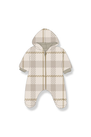 1+inthefamily Michele polar suit - ecru