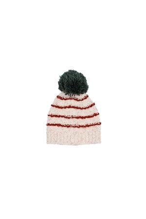 Buho Tibet baby knit hat - stripes