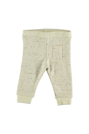 My little cozmo Trousers baby knit - ivory