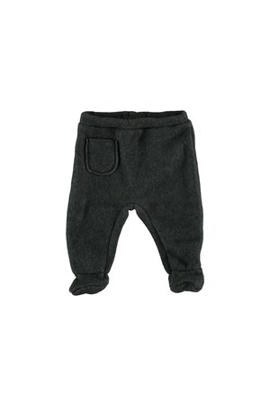 My little cozmo Footed trousers baby nordic - medium grey