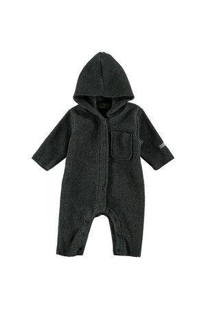 My little cozmo Fleece jumpsuit baby nordic - medium grey