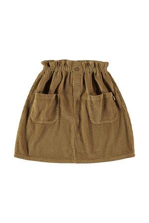 My little cozmo Skirt kids corduroy - camel