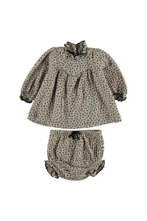 My little cozmo Blouse baby organic liberty - beige
