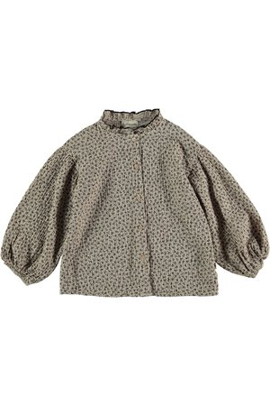 My little cozmo Blouse kids organic liberty - beige
