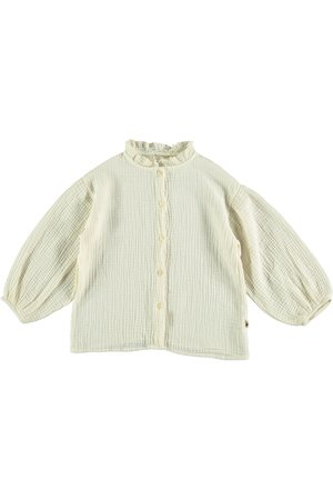 My little cozmo Blouse kids organic bubble - ivory