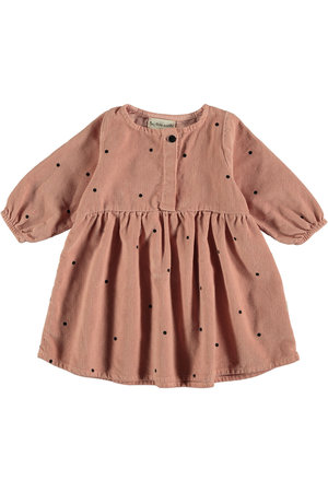 My little cozmo Dress baby dots - pink