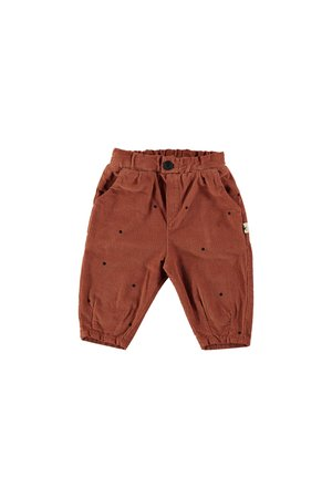 My little cozmo Trousers baby dots - rust