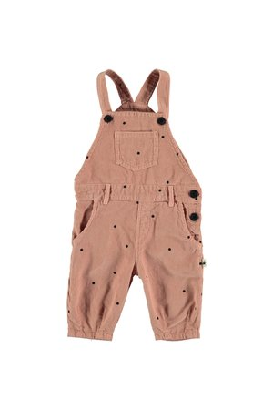 My little cozmo Dungarees baby dots - pink