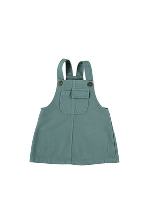My little cozmo Pinafore dess baby twill - jeans