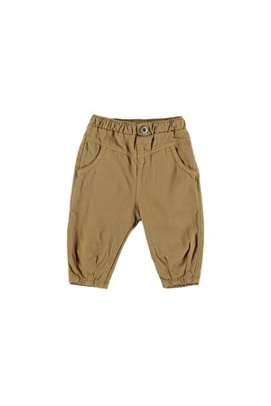 My little cozmo trousers baby twill - camel