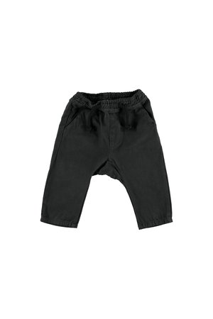 My little cozmo Trousers baby twill - darkgrey
