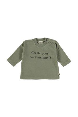My little cozmo T-shirt baby organic basic - khaki