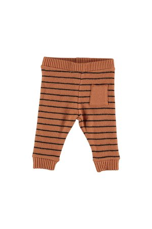 My little cozmo Trousers baby premium striped - rust