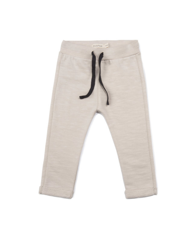 Phil & Phae Baby sweat pants - oatmeal