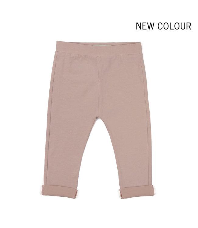 Basic jersey pants - vintage blush