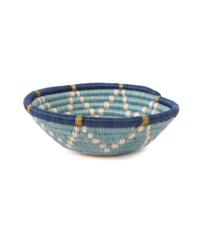 Silver blue + ficelle small bowl