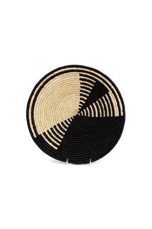 Black geo roulette jumbo bowl