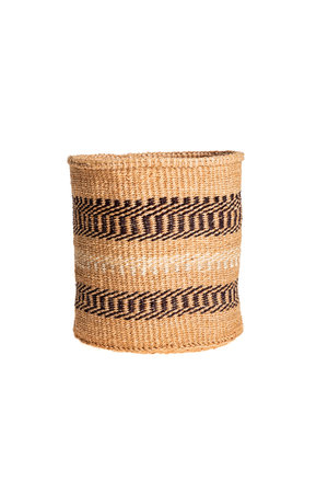Couleur Locale Sisal basket - earth colors #114