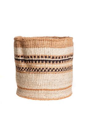 Couleur Locale Sisal mandje Kenia - aardetinten #118