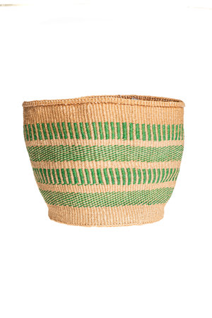 Couleur Locale Sisal basket colorful #127