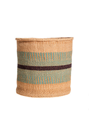 Couleur Locale Sisal basket colorful #132
