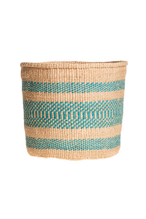 Couleur Locale Sisal basket colorful #133