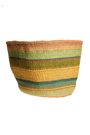 Couleur Locale Sisal basket colorful #136