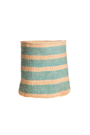 Couleur Locale Sisal basket colorful #134