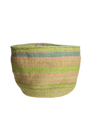 Couleur Locale Sisal basket colorful #137