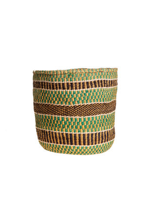 Couleur Locale Sisal basket colorful #139