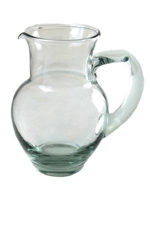 Karaf gerecycleerd glas