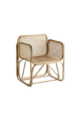 Bamboe lounge stoel