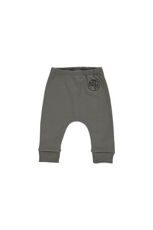 GRO August baby pant - dark soil