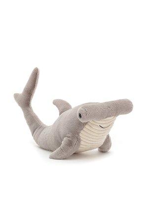 Jellycat Limited Harley hammerhead shark