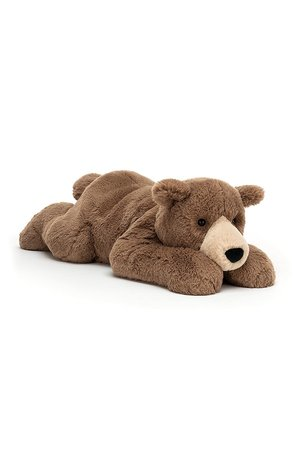 Jellycat Limited Woody bear lying