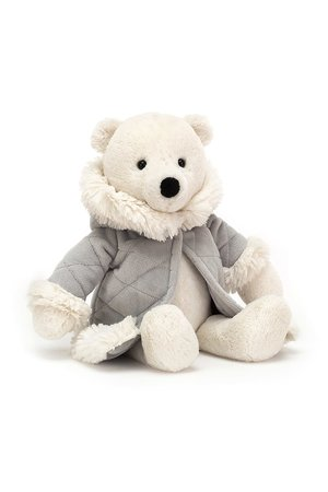 Jellycat Limited Parkie polar bear