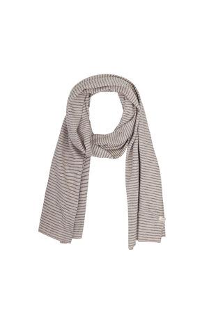 Phil & Phae Streepjes sjaal - straw