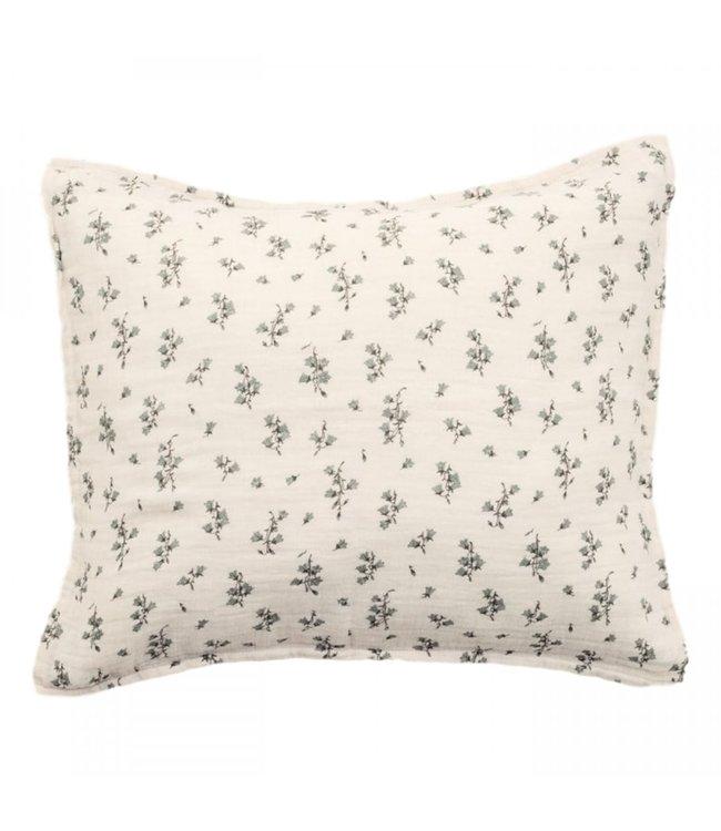 Bluebell muslin pillowcase