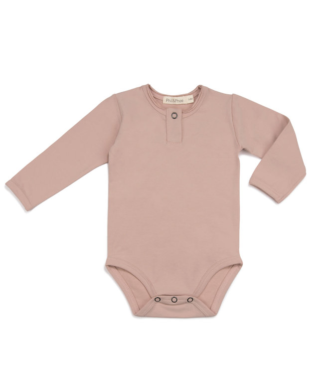 Phil & Phae Henley body - vintage blush