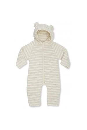 Konges Sløjd New born onesie with hood - vintage stripe