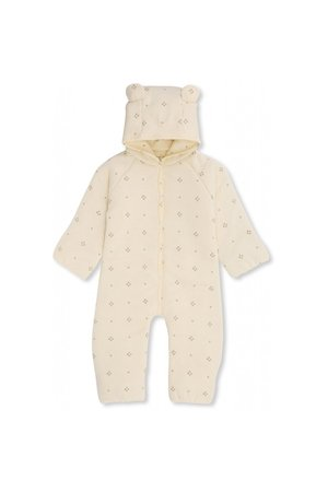 Konges Sløjd New born onesie with hood - camille